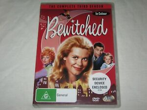 Bewitched - Complete Season 3 - 4 Disc Set - VGC - Region 4 - DVD