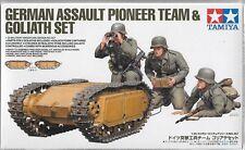 German Assault Pioneer Team & Goliath Set in 1/35 357  ST