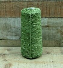 Moss Green Rayon Chenille Yarn 1.15 lbs 2010 Ypp *Save w/Combined Ship*