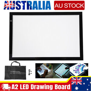 A2 LED Light Box Tracing Drawing Board Art Design Pad Copy Lightbox Day Light AU