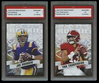 2020 JOE BURROW/TUA TAGOVAILOA PRIZED 1ST GRADED 10 ROOKIE RC LOT BENGALS/MIAMI