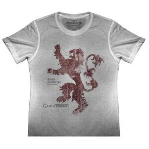 KIDS House Of Lannister Game of Thrones Flag Logo T Shirt Khaleesi Boys Girls