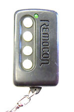 Keyless entry remote Remocon MMORCO196M transmitter garage door opener w program
