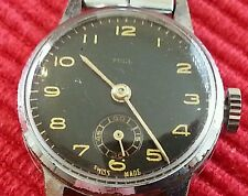 vintage Tell swiss made ladies watch, sonit strap,wind,keeping time for 24 hours