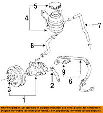 Power Steering Pumps Parts For Toyota Previa Sale Ebay. Toyota Oem 9497 Previa Pumpsteeringhose Tube Assembly 4441028320. Toyota. 1995 Toyota Power Steering Diagram At Scoala.co