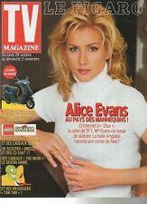 FIGARO TV 26/10/1996 alice evans