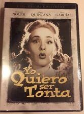 Yo Quiero Ser Tonta Spanish DVD New Fernando Soler Rosita Quintana