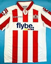 Carbrini EXETER CITY 2011/12 M Home Football Shirt Soccer Jersey ECFC Top Kit
