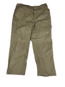 Reinforced Double Knee Work Pants - Red Kap Mechanic Performance Shop Pants Used