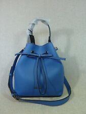 NWT FURLA Celeste Pebbled Leather Costanza S Drawstring Bucket Tote Bag $388