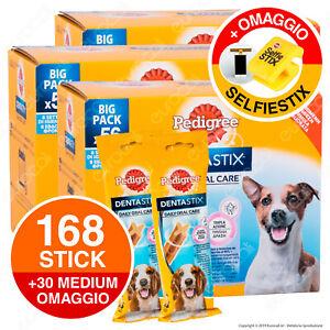 198 Pedigree Dentastix Small Igiene Orale del Cane - 3x56 + 30 Small OMAGGIO