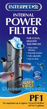 Interpet Internal Aquarium Power Filter for Fish Tanks Pf1
