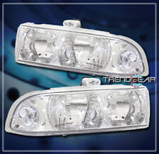 1998-2004 CHEVY S10/BLAZER CRYSTAL HEADLIGHT LAMP CLEAR 1999 2000 2001 2002 2003