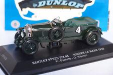 IXO BENTLEY SPEED SIX  #4 WINNER LE MANS 1930 1:43