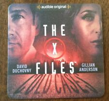 2017 SDCC AUDIBLE THE X FILES DAVID DUCHOVNY GILLIAN ANDERSON PROMO CARD COASTER