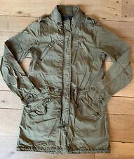 Maison Scotch & Soda Olive Green Military Army Coat Jacket Parka 1 S Small 4