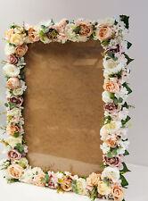 Marco De Foto Floral Vintage Grande 60 X 80cm Decoración para Boda lista de invitados plan de Mesa 1
