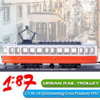 1:87 Urban Rail Trolley Treno C1 Nr.141(Simmering-Graz-Pauker)-1957 Locomotive