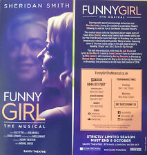 FUNNY GIRL – SHERIDAN SMITH – SAVOY THEATRE, LONDON – FLYER 2016