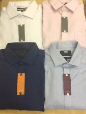 Ex M&S Easycare THE TRAVEL SHIRT LONG SLEEVE Various Sizes