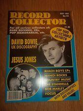 RECORD COLLECTOR MAGAZINE ~ MAY 1991 NO. 141 BOWIE JESUS JONES  BEACH BOYS