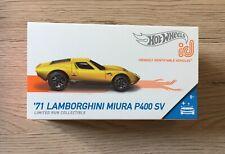 HOT WHEELS ID Lamborghini Miura P400 SV