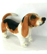 Melissa and Doug Large Standing Basset Hound Stuffed Plush Dog 26'' Long #4866