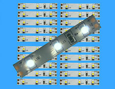 4,89€/m  -  20 St. LED Hausbeleuchtung   WEISS   5cm Modellbeleuchtung Bahnsteig