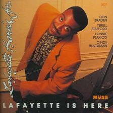 Lafayette Is Here by Lafayette Harris, Jr. (CD, Dec-1993, Muse (USA)) JZ1588