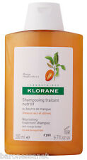 Klorane Nourishing treatment shampoo with mango butter for Dry Hair 200ml shiny