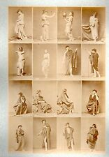 C20 Calavas photo étude pour peintre vintage albumen print albuminé nus Femme