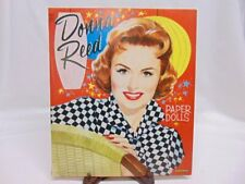 Vintage 1959 Authorized Donna Reed Paper Dolls Uncut by Saalfield