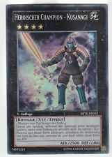 YU-GI-OH Heroischer Champion Kusanagi Super Rare  ABYR-DE043