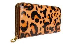 Patent Leather Clutch Animal Purses & Wallets for Women