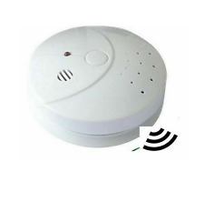 WIRELESS STAND ALONE BATTERY POWERED SMOKE ALARM ALERT SAFETY FIRE DETECTION