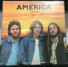 AMERICA Homecoming Tri-Fold Album Released 1972 Vinyl/Record Collection USA