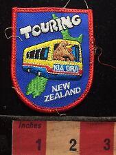 Kia Ora Touring NEW ZEALAND Patch ~ Pacific Ocean Island 72U6