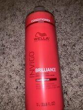 Wella Invigo Brilliance Conditioner for Coarse Hair - 33.8 oz / 1 L