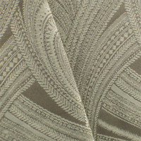 Taupe/Ivory Paisley Jacquard Home Decorating Fabric, Fabric By The Yard