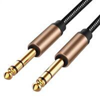 6,5 Mm Klinken Audio Kabel Geflochten für Gitarrenmischer VerstäRker 1,8 M D8P2