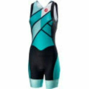 Castelli Womens Short Distance Triathlon Tri-Suit Medium
