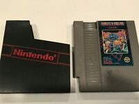 Ghosts 'n Goblins Nintendo Entertainment System NES 5 Screw Game TESTED FS!