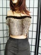 $NEW MONTANA LYNX AND MINK FUR TRIM WOMEN SZ ALL