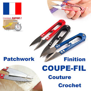 COUPE FIL CISEAUX BRODERIE COUTURE TRICOT PATCHWORK SCRAPBOOKING DÉCOUPE BOBINE