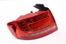 AUDI S4 A4 DRIVER OUTER LED TAILLIGHT TAIL LAMP QUARTER MTD OPT 8SL OEM 10 11 12