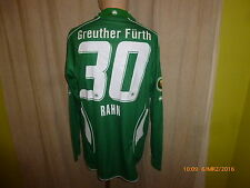 SpVgg Greuther Fürth Jako Langarm DFB-Pokal Matchworn Trikot + Nr.30 Rahn Gr.M/L
