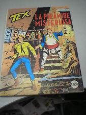 TEX ORIGINALE # 228, La piramide misteriosa, ottobre 1979, BUONO