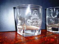 JACK DANIELS WHISKEY 150th BIRTHDAY ANNIVERSARY GLASS TUMBLER ~ RARE + BRAND NEW