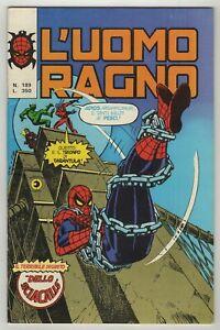 L'Uomo Ragno (1970) #189 Italy Editoriale Corno Amazing Spider-Man #148 VF-