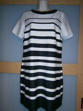 Dorothy Perkins womens white/black dress size 12